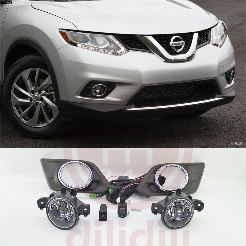 цена на OEM Fog Light Lamp Kit for nissan Rogue x trail X-Trail 2014 2015 2016