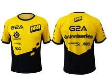 Spiel Team DOTA 2 Jersey Natus Vincere Navi T-shirt CSGO LOL DOTA2 kurzarm Männer t-shirt schnell trocken 100% Polyeste TEES