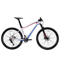 JAVA FIAMMA 27.5 Carbon Mountain Bike with SLX Shifters Aluminium Wheels 22 speed Hydraulic Disc Brake 650B MTB Bicycle