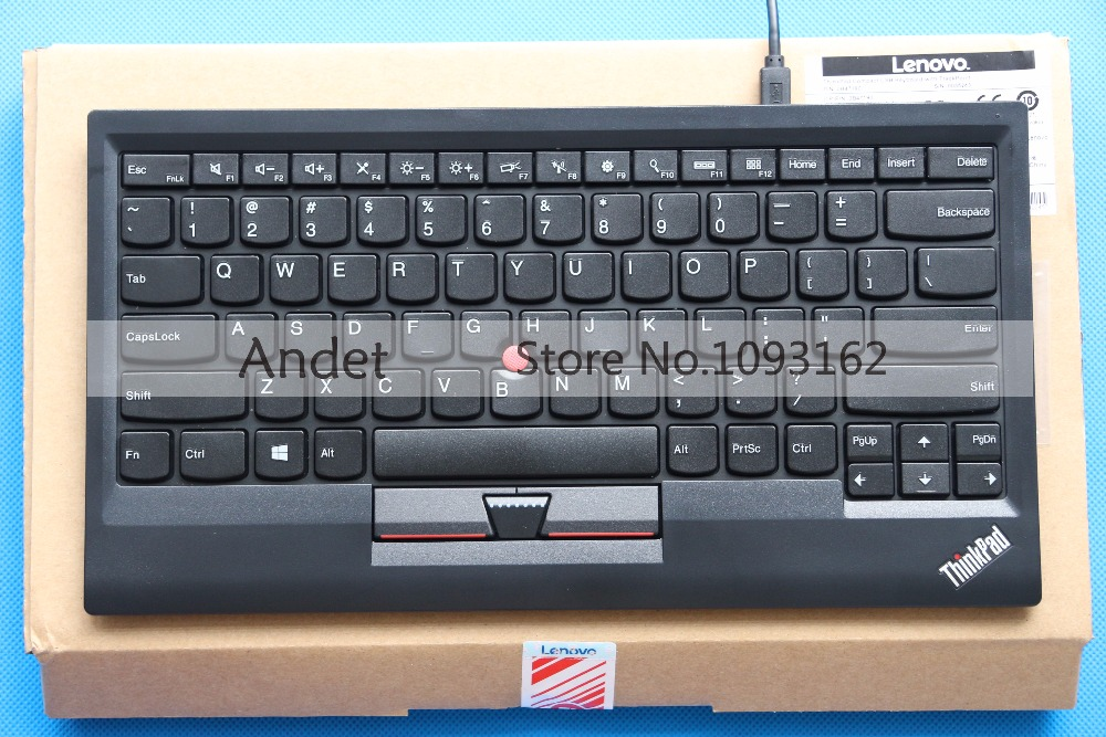 0B47190 New Original for Lenovo Thinkpad with Trackpoint Travel USB Keyboard Special Offer Standard for Laptop & PC US English new original laptop keyboard for lenovo thinkpad t460p t460s us keyboard english with backlit backlight 00ur395 00ur355