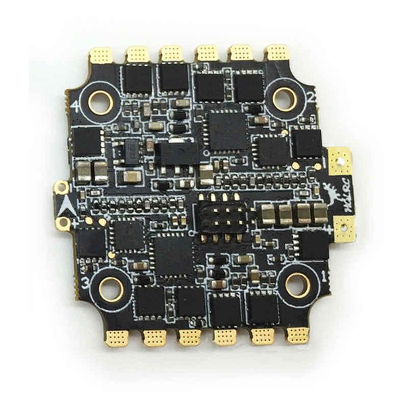 HGLRC XJB F438-TX20.V2-ELF 600TVL 1/3 CCD de la cámara y F4 controlador de vuelo 33A BL_S CES/25/100/200/ combo VTX de 350 mW para modelo de juguete RC