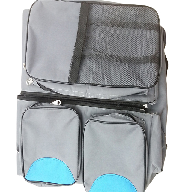 3 in 1 Muli-Purpose Travel Bassinet Diaper Bag Baby Tote Bag Bed Change Station