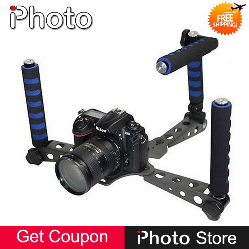цена на Spider Steady Camera Stabilizer DSLR Rig Shoulder Mount Movie Kit Support for Canon 5DII 7D 550D 600D 60D Nikon D7000 D5100