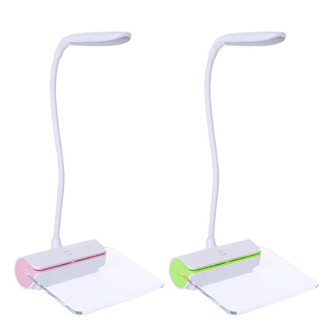 1.5 W Usb Opladen Tl Message Board Touch Nachtlampje 3 Niveau Licht Verstelbare Oplaadbare Tafellamp Led Light Switch