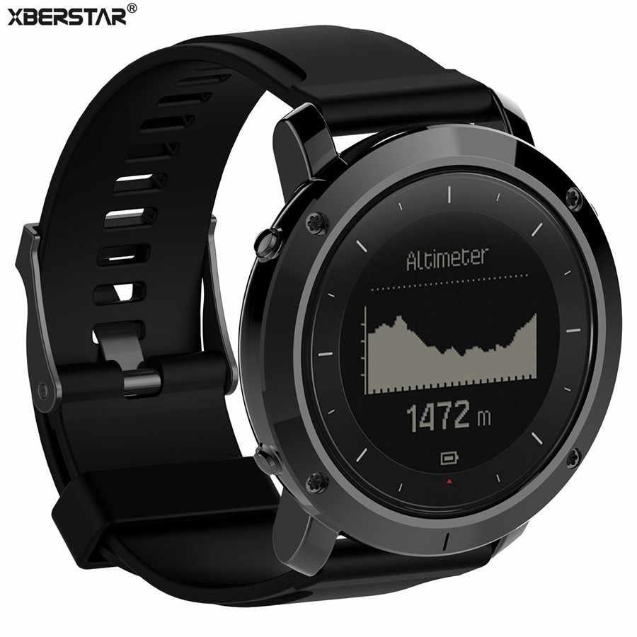 a10fcf3d45e0 Reemplazo de silicona de goma correa de reloj de correa para Suunto  Traverse GPS al