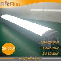 12pcs 2ft led batten light 0.6m farm led lamp for kichen factory warehouse storage garage lighting 4ft 5ft 40w 60w 1.2m 1.5m 80w