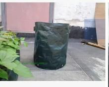 Outdoor bonsai planting vegetable planting pots dark green PE material 35×45 cm 360 g 50 l