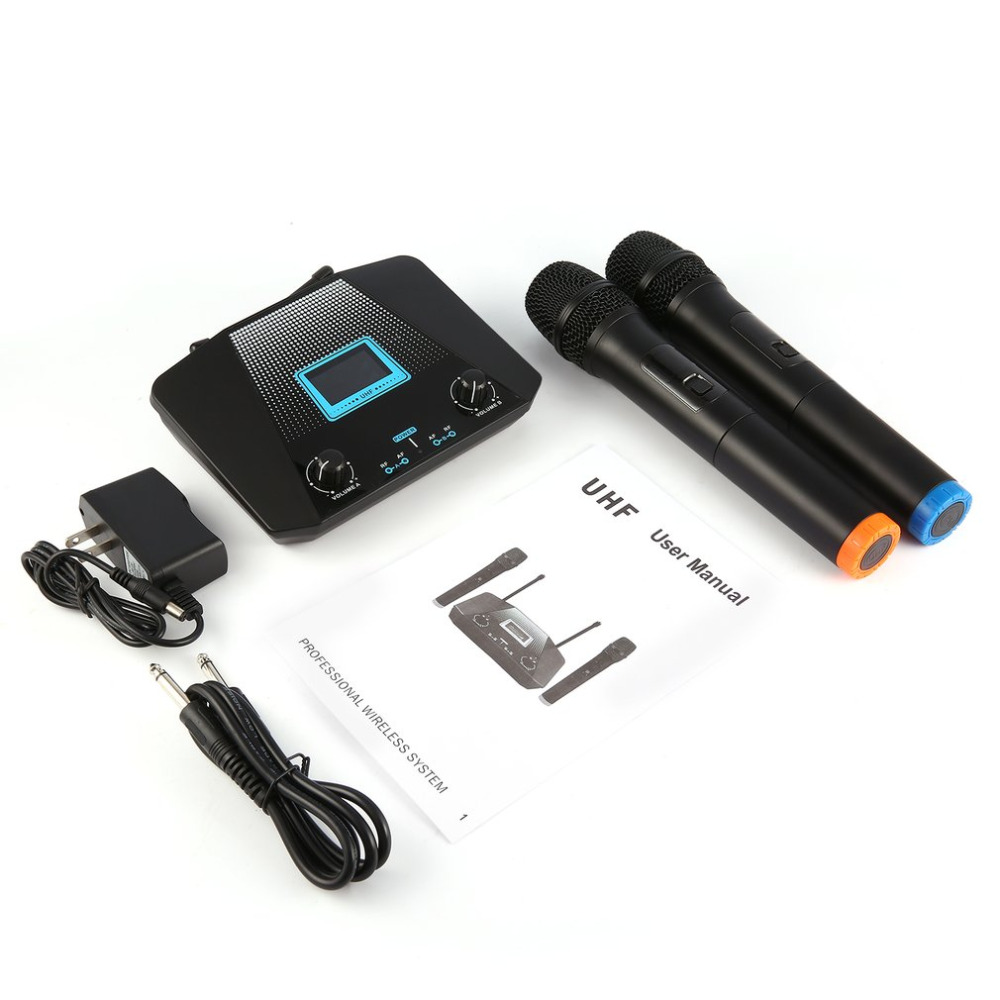 Professional Vocal Set Wireless Microphone System with Audio Reference Companding for Crystal-clear Sound L-803 fpv 1 2ghz 100mw 4ch wireless audio