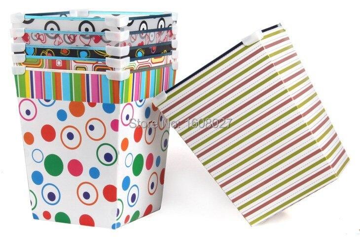 Free Shipping 4designs Plastic Garbage Can Trash Can Basket Rubbish Bin  Bedroom Kitchen Bathroom Storage Bucket ...