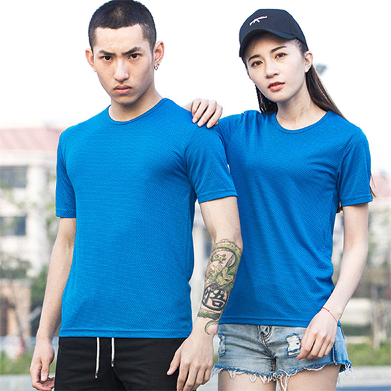 XS-5XL Fast Dry T shirts Men Women Short Male Female Fitness T-Shirts Summer Breathable Hiking Couple Sweat-shirts Man Plus Size 10