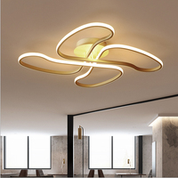 Креативный светодиодный Блеск Lamparas алюминиевые люстры постмодерн SimplePersonality Art спальня ресторан люстра