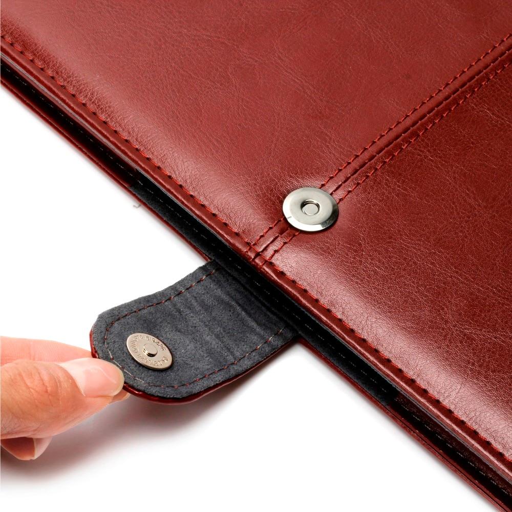 RYGOU Pu Leather Case & Keyboard Cover & Screen Protector dla Macbook - Akcesoria do laptopów - Zdjęcie 5