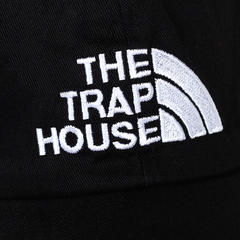 5d9e8a6f35f 2018 new THE TRAP HOUSE embroidery dad hat Fashion Style Rap Hip Hop Dad  Cap Cotton For Women Men Hip Hop Cap Gorra golf cap hat-in Baseball Caps  from ...