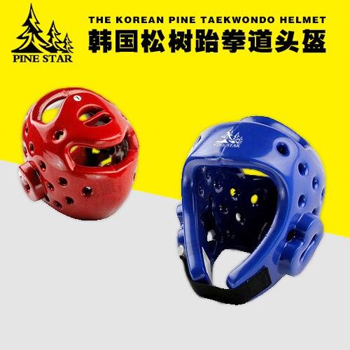 Новое поступление тхэквондо голову протектор Красный Синий шлем для взрослых и детей head guard снаряжение для мужчин, женщин тхэквондо Каратэ ...