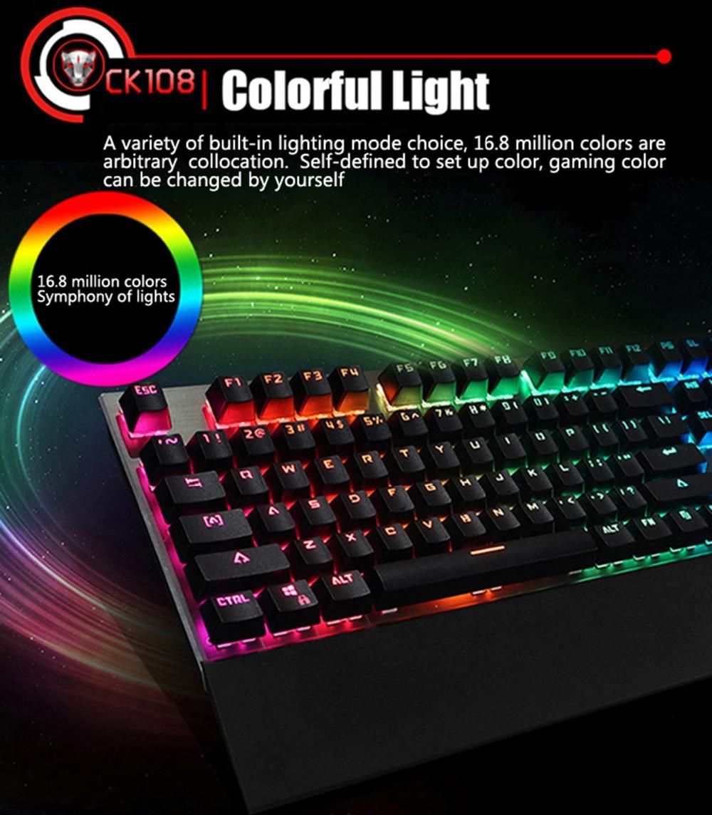 backlit mechanical keyboard