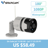 Vstarcam 1080P IP Camera Outdoor Wifi Camera IP66 Waterproof Motion Detection Night Vision Panoramic Bullet Camera C63S