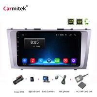 2G + 32G Android 8,1 4G Автомобильный Радио Мультимедиа Видео плеер навигация gps WiFi 2 din для Toyota Camry 40 50 2006 2011 без dvd