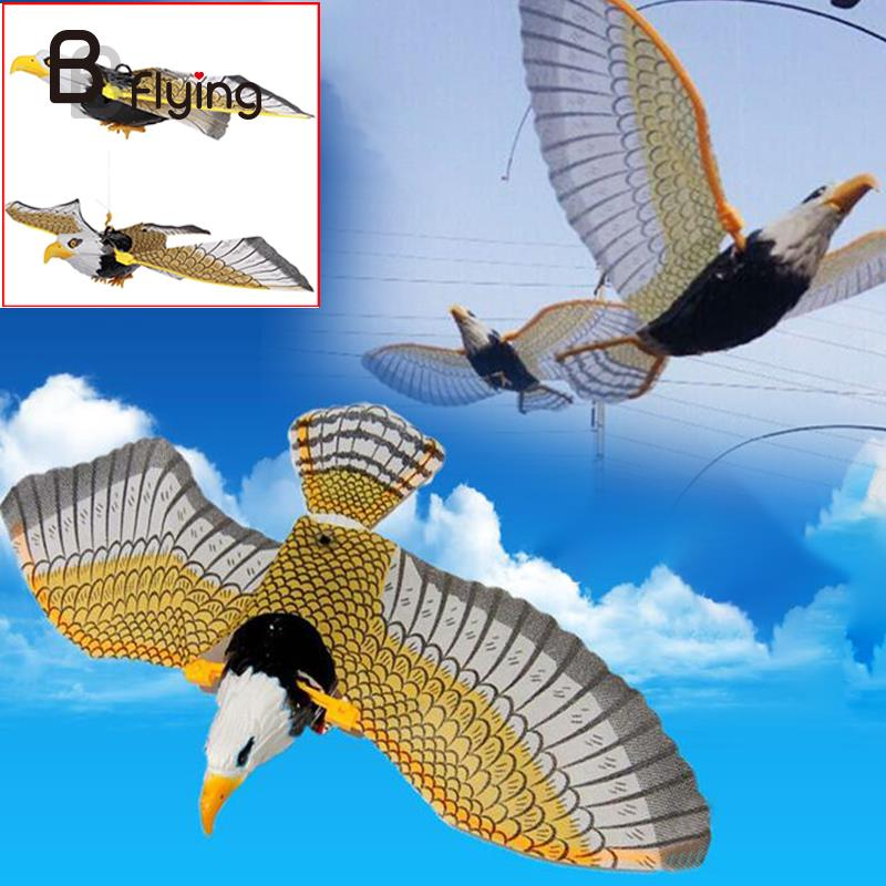 Electric Flying Birds Toy Hanging Wire Flapping Eagle Children Chrismas Toy