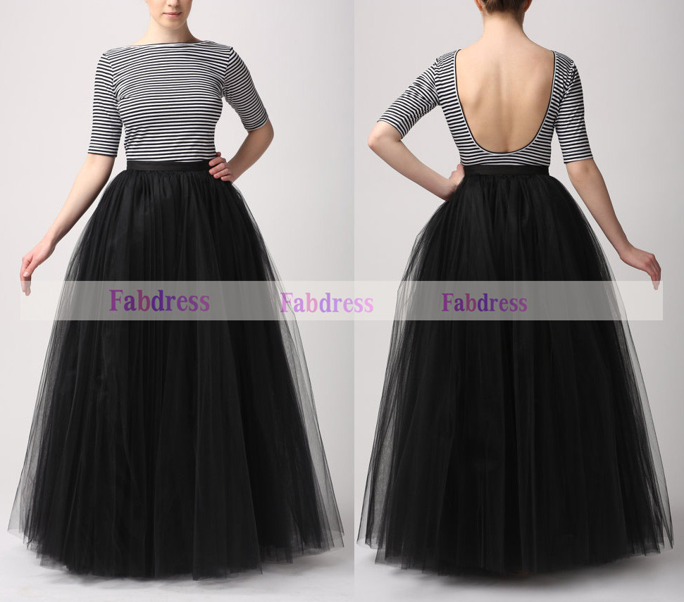 Full Length Skirts - Skirts