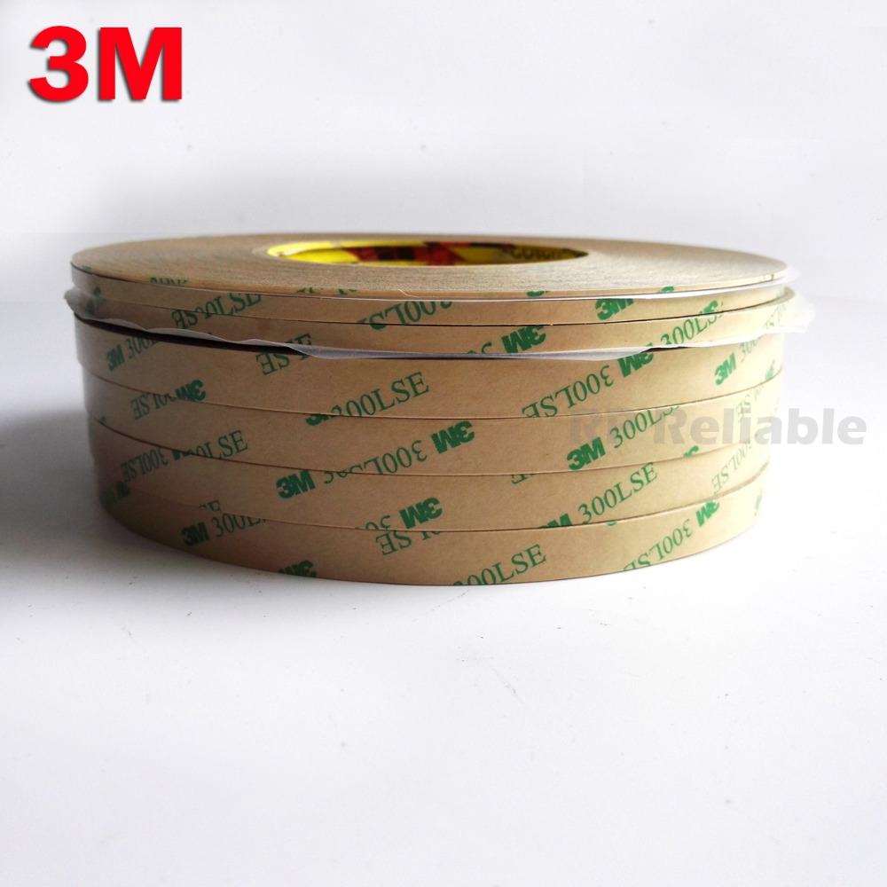 Promotion! 1mm/2mm/5mm/3mm/10mm Choose, 3M 300LSE Super Strong Double Sided Adhesive Heavy Duty Tape For LCD Lens Digitizer 55M