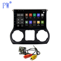 Android 7.1/8.0 Car GPS Player Navi for Jeep Wrangler 2011 2016 Auto Head Unit NO DVD Car Radio Multimedia Maps Navigation