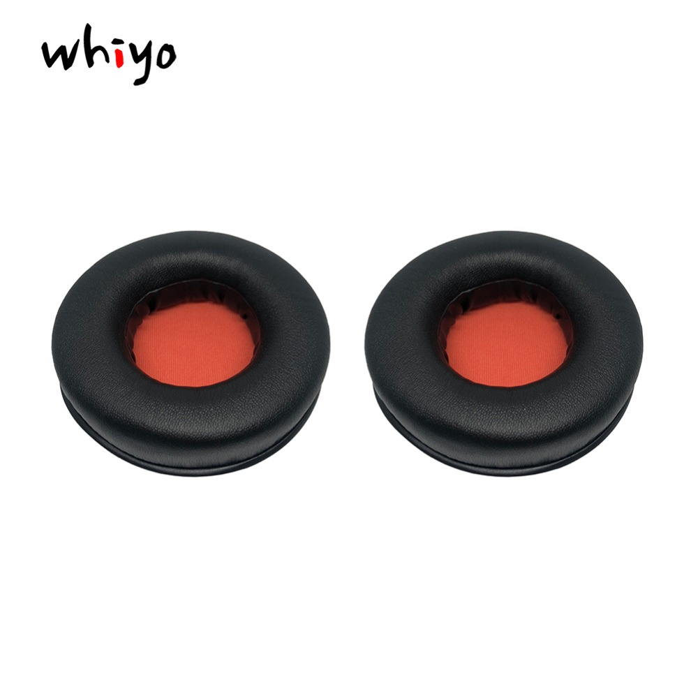 1 Pair of Orange Ear Pads Cushion Cover Earpads Earmuff Replacement Cups for Plantronics Rig 500 Headphones Accessories Sleeve