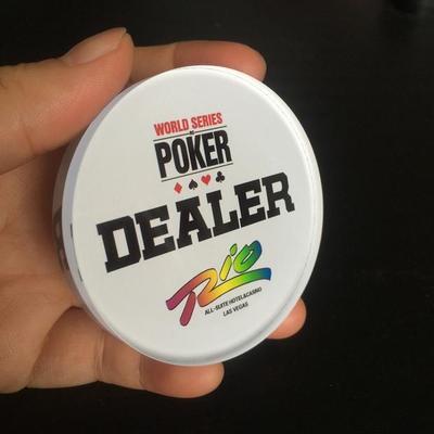Gratis Pengiriman BARU Kualitas Tinggi 65 MM diameter kristal DEALER aksesoris profesional untuk aksesoris permainan kartu