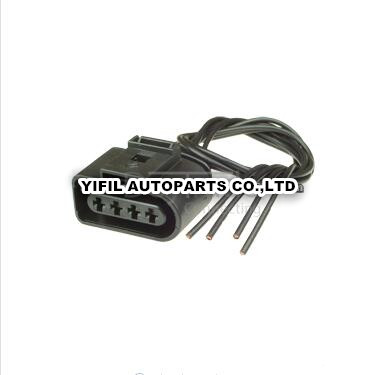 popular ignition wiring harness buy cheap ignition wiring harness 10pcs lot ignition coil 4 pin way 1j0973724 connector repair kit for a4 a6