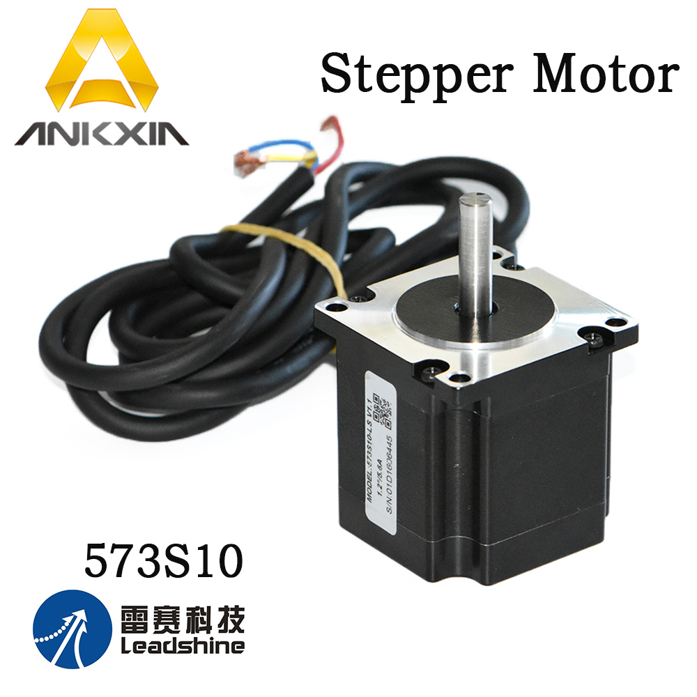 Leadshine Stepper Motor 573S10-LS Engine Driver 3 Phase Stepper Motor For Cnc Laser Cutting Engraving Machine laser cutting machine 57 stepper motor with copper gear