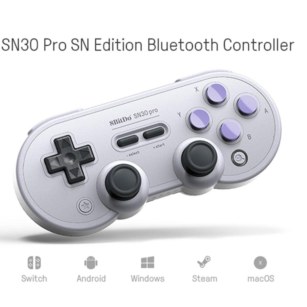 8bitdo SN30 Pro Contrôleur Sans Fil Classique Manette de jeu pour PC Windows Android MacOS Vapeur