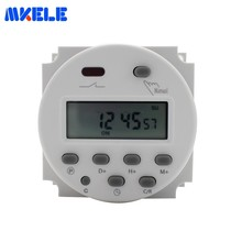 7 Days Programmable Timer CN101A with Shell LCD Power Digital 12V/24V/110V/220V AC/DC Time Switch Makerele Free Shipping