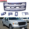 Black Raptor Style For Ford F 150 F150 2009 2014 Grille Conversion Racing Grill Complete With