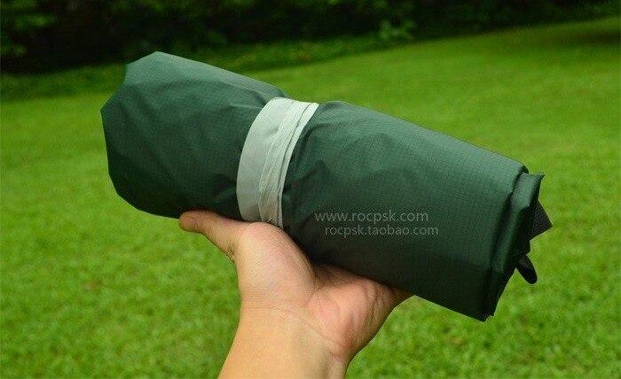 3F ul Gear 510g 3*3 mètres 15d nylon silicone revêtement de haute qualité en plein air caming tente bâche ultra-légère abri soleil auvent - 6