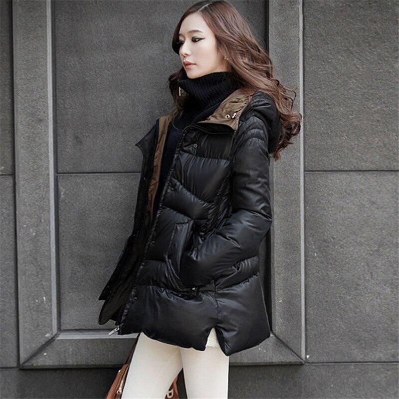 Plus Size S-5XL Winter Jacket Women Thick Down Cotton Jacket   Parka  ,Jaqueta Feminina,Hooded Oversized Coats Casacas Jacket C2244