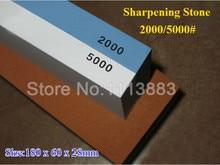 Janpanese Sapphire 2000/5000# Grit Double Side Grinding Stone Grinder Whetstone Knives Cutter Sharpening Sharpener Stone цена