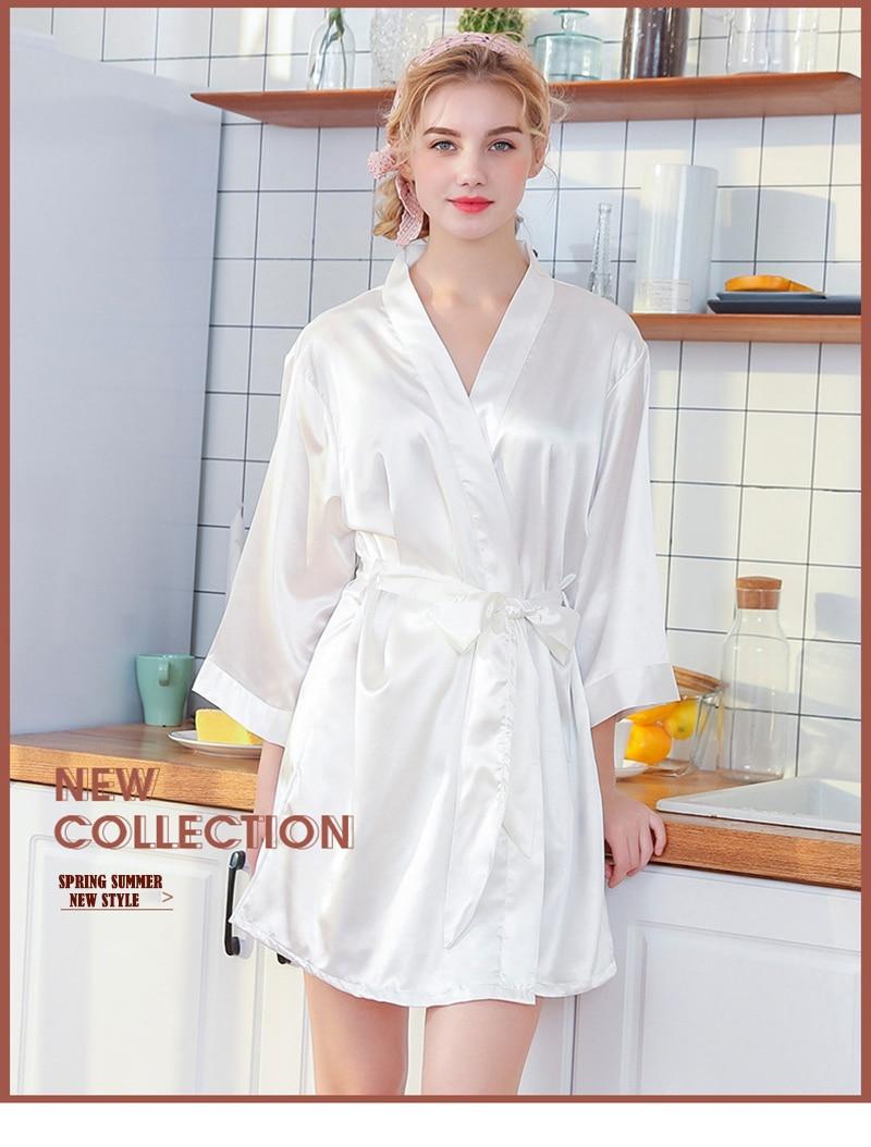 a9f58067f03d2 Detail Feedback Questions about Silk Robe Female Sleepwear ...