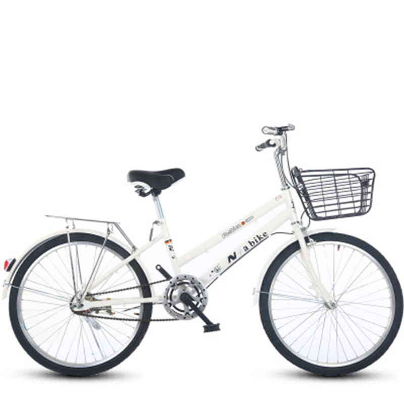 New 24-Inch Speed Change Bicycle Adult Male And Female Middle School Students Commuter Bicycle Speed Change Bike Brake Bike image