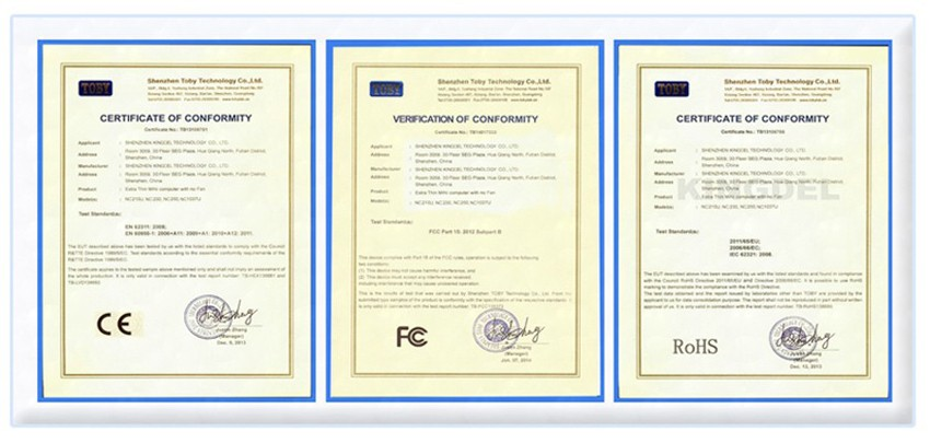 Certificate-850