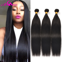 Ali Coco Hair Brazilian Straight Human Hair Bundles Brazilian Straight Hair 3 Bundles Brazilian Straight Weaves