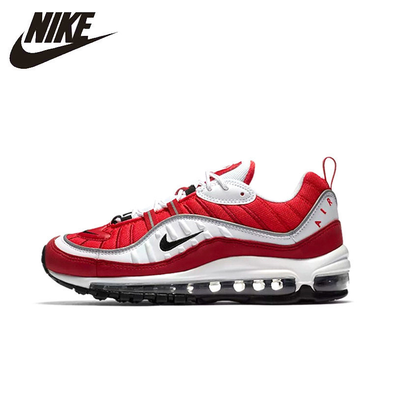 Nike Air Max OG 98 Gundam Men's Running Shoes Outdoor Breathable Anti slip Sports Comfortable Outdoor Sneakers # AH6799 101