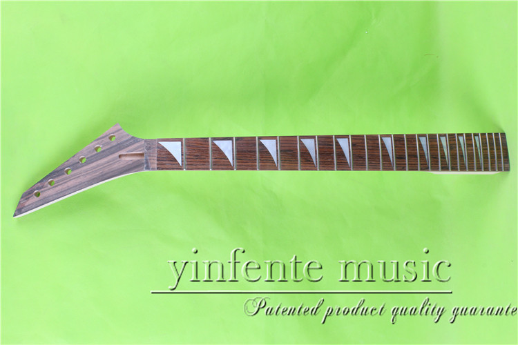 JKX-0085+1# left    25.5 Electric guitar neck   Bolt on  rosewood   fingerboard fine quality  24 fret кордщетка атака 22345