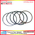 GY6 50cc 44mm Piston Ring Set for 4T 139QMB Chinese Scooter Parts ATV Parts Znen Baotian Peace Taotao Icebear Free Shipping