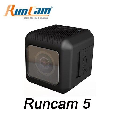 Runcam Runcam5 5 1080 120FPS NTSC/PAL Selecionável Alta Desempenho de Gravação de vídeo FPV Construído em 950 mah bateria para RC Zangão 56g