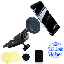 GPS Navigation Magnetic CD Slot Phone Holder Mount For iPhone xiaomi mi 8 lite h
