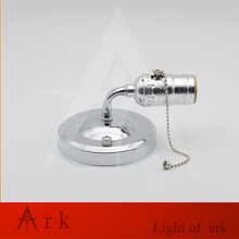 Retro loft wall lamp E27 LED sconce wall lights vintage luminaire Modern switch for home Bathroom bedroom bedside  corridor vintage retro black workroom water pipe steam punk table lamp e27 e26 led lights sconce for bedroom bedside workshop office