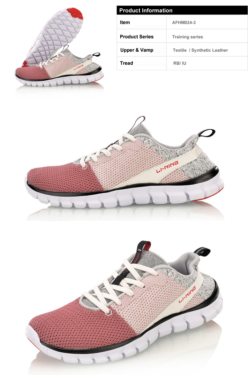 8a23dafeb Li-Ning Women 24H Smart Quick Training Shoes LiNing Breathable ...