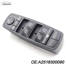 YAOPEI A2518300090 Puerta Delantera Izquierda Espejo Ventana Interruptor Principal Para Mercedes W164 ML 2518300090