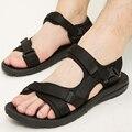 Новых прибыть мужская Вьетнамские сандалии гладиатор сандалии обувь холст повседневная пляжная обувь sandalias hombre шлепанцы XK122903