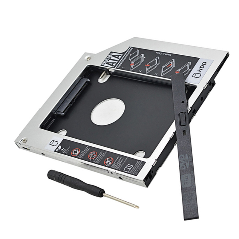 9 5mm 2nd SATA HDD SSD Hard Drive Caddy for MSI GE40 GE62 GT72 CX62 6QD