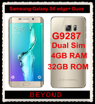 Samsung Galaxy S6 Edge+ Plus Duos G9287 Original Unlocked 4G Lte Android Dual Sim Phone Octa Core 5.7 Beyound Tech/hoodmat.com